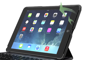 QODE Ultimate Pro Keyboard Case for iPad Air