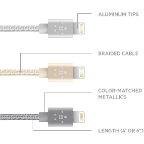 Lightning-/USB-Kabel