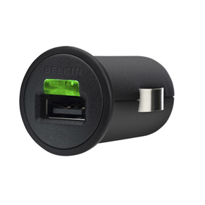 Universal Car Charger with Micro-USB to USB Cable (5 Watt/1 Amp)